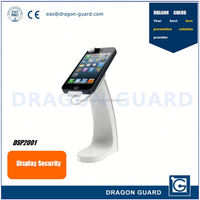 Anti-theft self alarming security smart phone display & Mobile phone display & Mobile phone charging holder