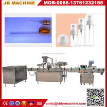 JB-P2 automatic spray filliing and capping machine for disinfectant spray and burns