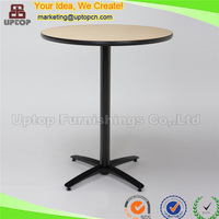 (SP-BT601) Round laminate wooden top party banquet cocktail table