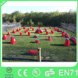 customized fun Inflatable paintball bunkers for CS sport game