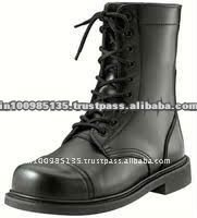 Fashion combat shoes Military boots
