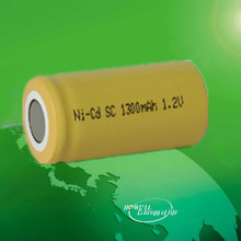 Nicd SC 1300mAh Rechargeable Battery / 1.2V Ni CD Rechargeable Battery / Ni-CD Battery