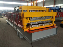 IBR color steel Roof Sheet/ Corrugated Roof Sheet Double Layer Cold Roll Forming Machine