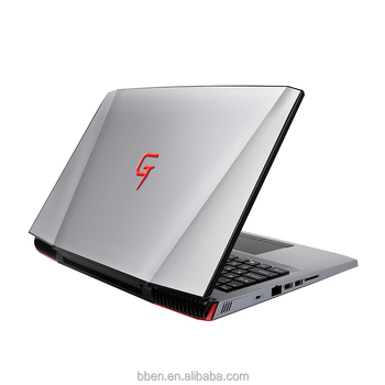 15.6 inch i7-7700HQ gaming notebook with GTX-1060