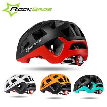 ROCKBROS Ultralight Foam Padding Bicycle Helmet Road Racing Bicycle Helmet Integrally In-mold Mountain Bike Helmet