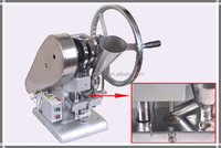 Electic motor Single punch TDP-1.5 manual punch press machine,mini press tablet machine,pressing machine by Hand