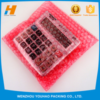 2016 New Products On China Market Red Latest Red Antistatic Air Bubble Bags