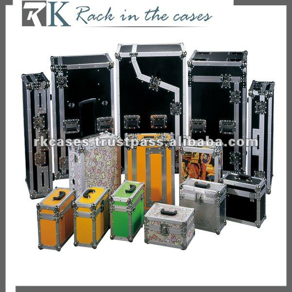 RK utility trunk road case,storage box ,LED light case