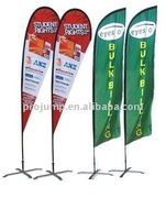 2012 portable outdoor advertising tear drop flag