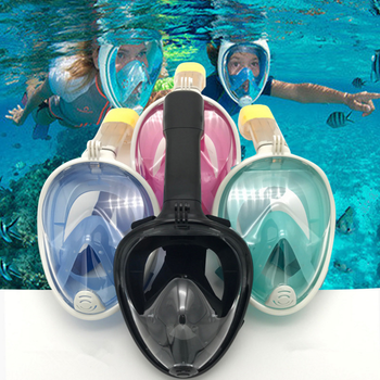 2017 Hot Selling Products Full Face Diving Mask Easy Breath Scuba Diving Equipment
