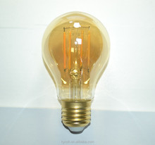 A60 E27 230V led filament lamp 6W 8W bulb