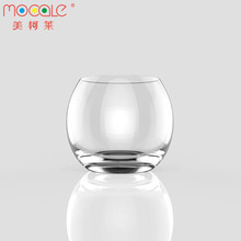 Gradient Round Empty Drinking Glass Cup Set For Home Decor Tea Cup