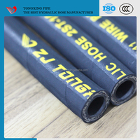 wholesale hydraulic hose r1 r2 high quality epdm high high temperature hose fuel resistant rubber hose
