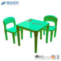 School furniture table and chair set for study