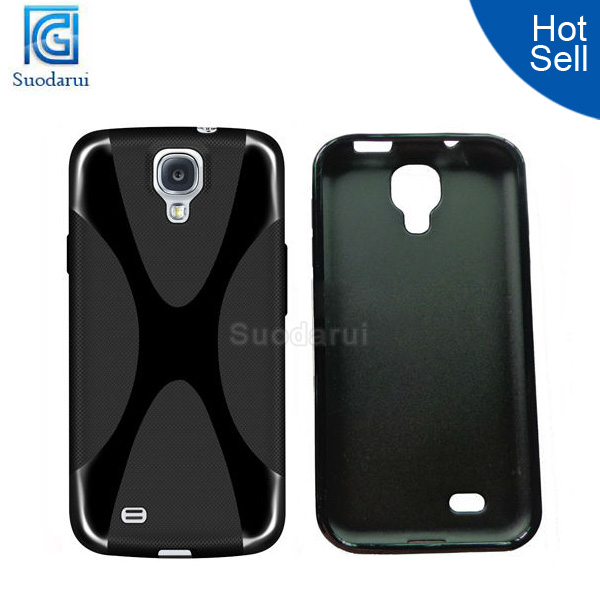 X Line Wave TPU Gel case silicone case for samsung galaxy s4 mini