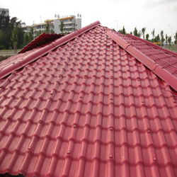 Acid Resistant Masonry Materials Spanish PVC Roofing Metro Tiles