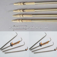 ventilation needles/lace wig needle/wig ventilators
