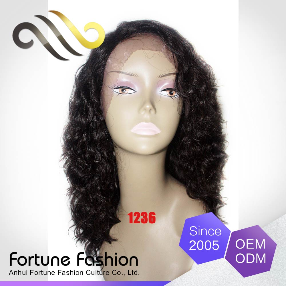 China cheap women hair wig, lace wig human hair, human hair wigs for black women
