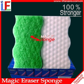 Home Accessories Melamine Scouring Magic Eraser Sponge Pad For Garden Cleaning