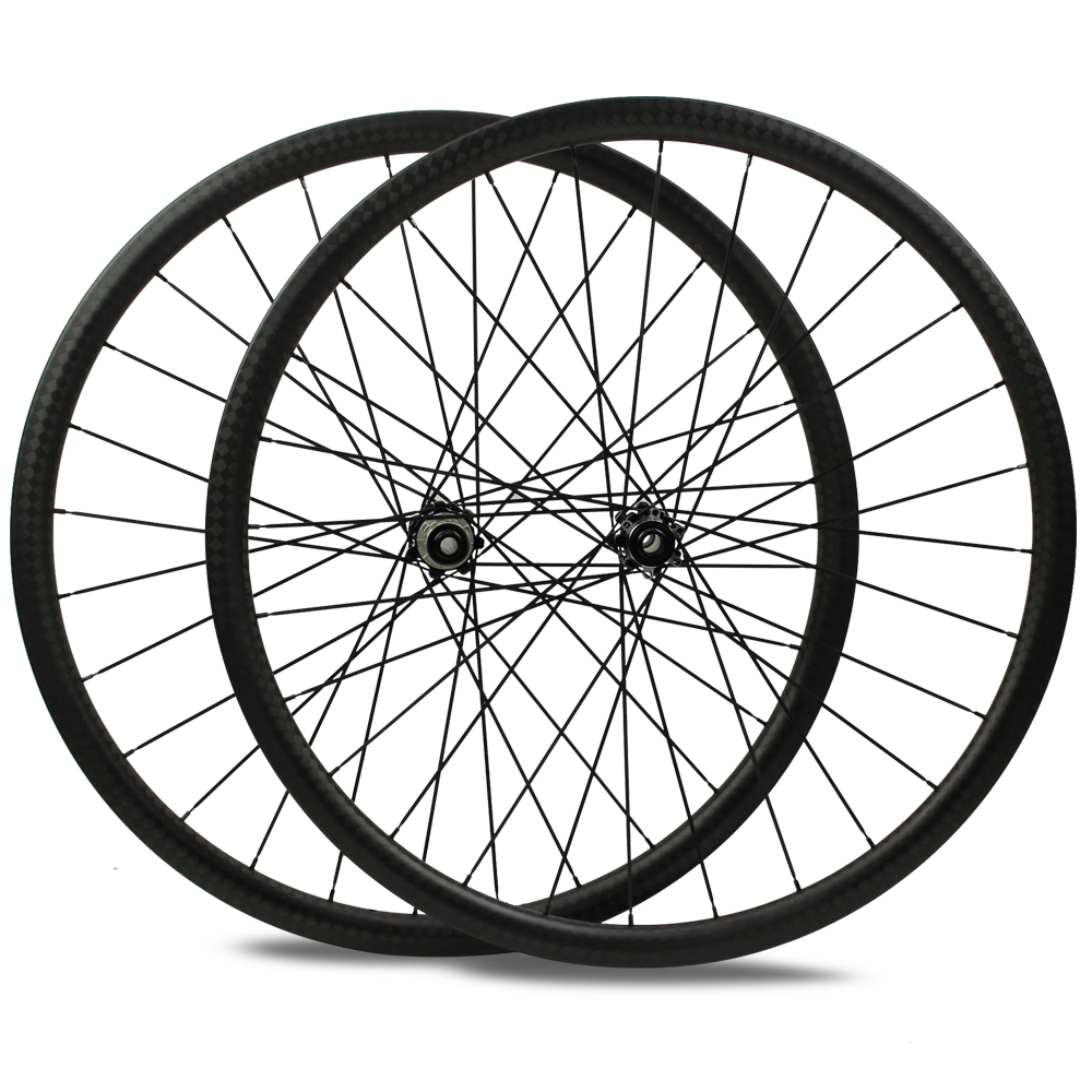 cyclocross carbon clincher rims700c bicycle carbon aero bike rims with 3k or ud finish carbon bicycle wheel