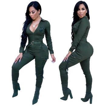 Sexy women club sportwear jumpsuit for women