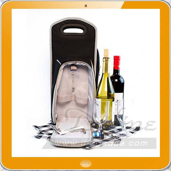 7 Pcs Insulated Wine Carrier Tote Bag