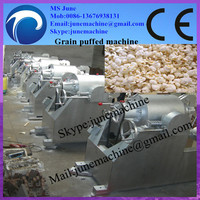 0086-13676938131 China first-class quality puffed rice cereal machines