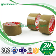 "12 Roll 3"" Clear/Tan Bopp Quality Packing Carton Sealing Adhesive Tape Logo"