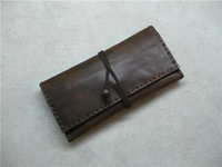 Boshiho Handmade Leather Bag Leather Tobacco Pouch