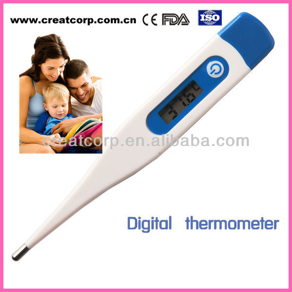 ISO certificate metal digital mercury oral thermometer(DT-115)