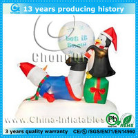 2013 new design attractive lowes christmas inflatable decoration
