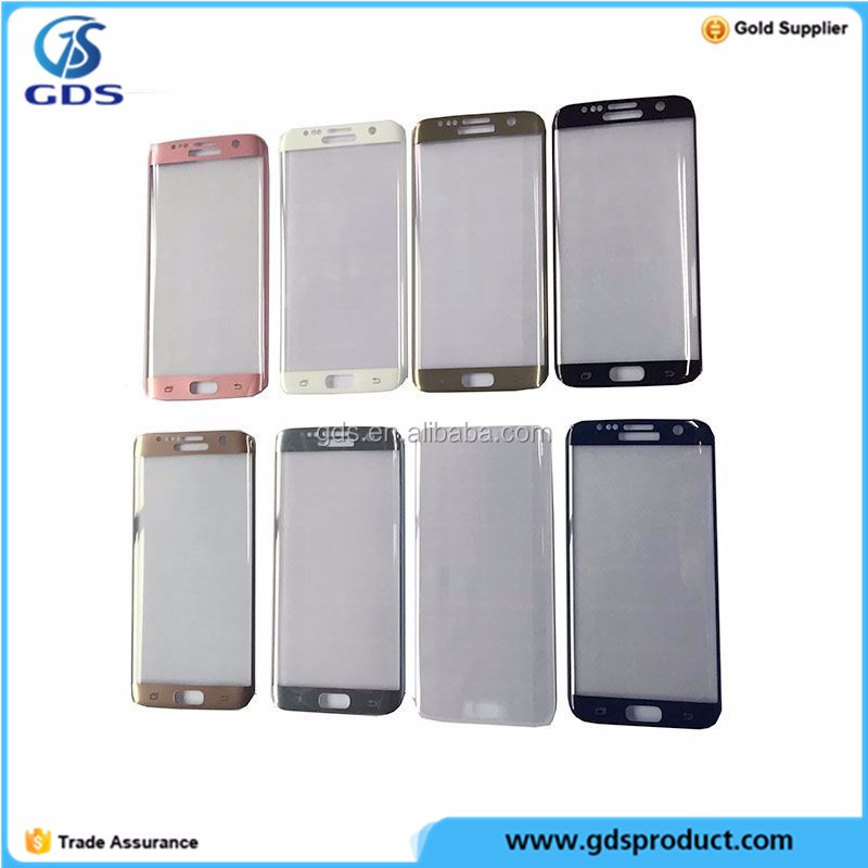 Mobile Phone Screen Protector Film Cover Temper Glass For S7 Edge
