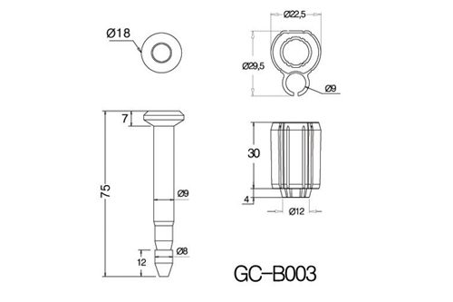 GC-B003 SnapTracker Bolt Security Seals