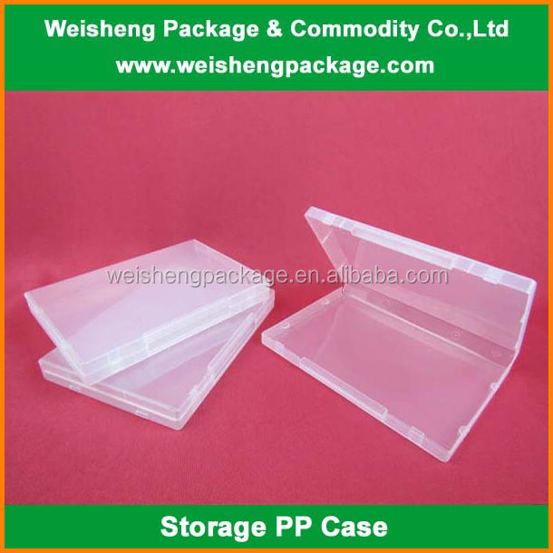 Custom clear plastic packaging case/box for baby clothing