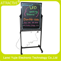 Outdoor Using for Restaurant and Coffee Shop Elctronic Sign LED Writing Board
