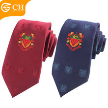 Custom Professional Neck Tie School Uniform Tie with Logo