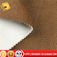 fake leather fabric sofa home textile fabric finished giling for fatory in zhejiang