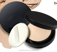 Cosmetics mineral waterproof makeup compact powder with case