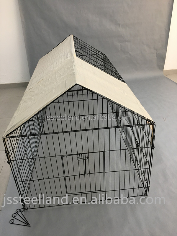 Outdoor Folding Wire Rabbit hutch