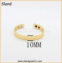 Online various design styles and colors copper bands ionized bracelets 2015 hot selling engraved bracelets