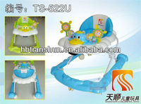 Plastic go-cart/Salable New style baby walker