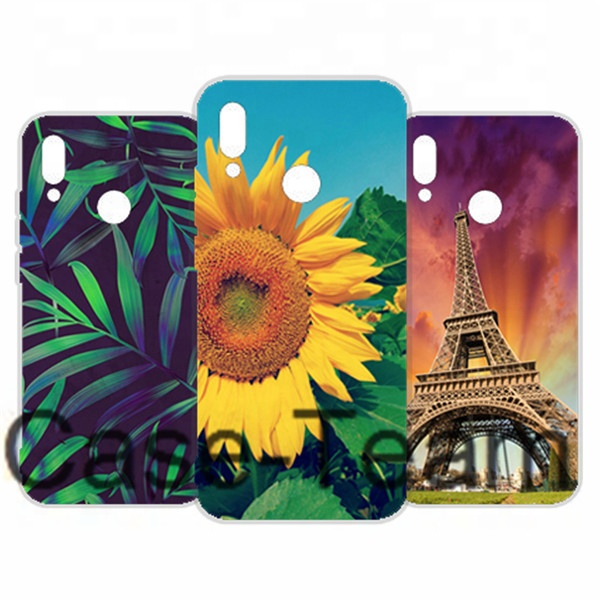 Mobile Phone Case for Huawei <strong>P</strong> Smart 2019 Case, Free Shopping, Cartoon Flower Cover for Huawei <strong>P</strong> Smart 2019 case