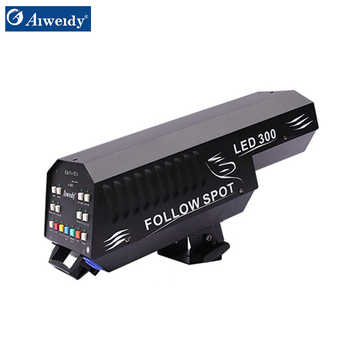 2018 newest product 300W Theater lighting stage effect light led follow spot for stage wedding