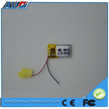 latest technology super quality 3.7v 40mah lithium ion battery with high quality