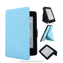 Shockproof Cheapest Cover For Kindle Fire HD Case 7 2014- Slim Fit Leather Standing Protective With Auto Sleep/Wake Feature