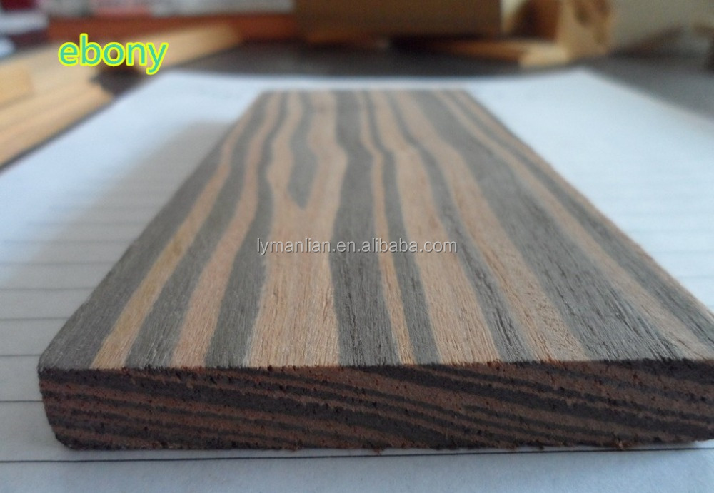 furniture grade recon ebony wood timber price