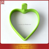 Heart shape silicone cake decorating cookie biscuit cutter
