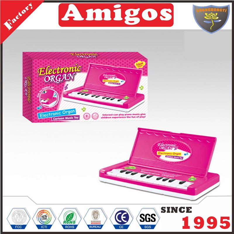 brand electronic organ/electronic keyboard with light music cute musical toy