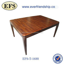 2014 new style antique solid wood dinning table(EFS-1688)