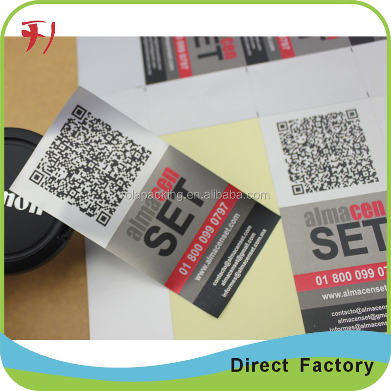 Super good quality sticker label roll printed, customized waterproof adhesive labels for plastic bottle